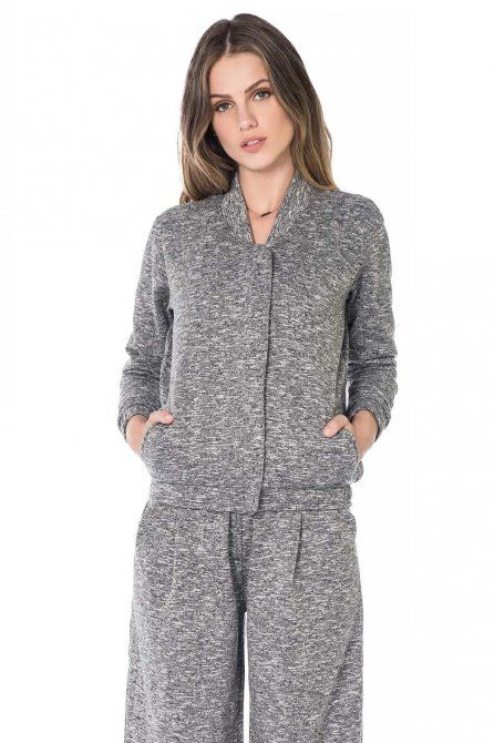 Jaqueta Bomber Sloshed Fleece