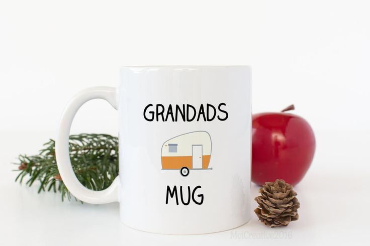 Grandad Coffee Mug - Funny Mug - Stocking Filler - Gifts For Grandads - Caravnning - Coffee Lover - Grandad - May Be Personalised by MCICREATIVE on Etsy