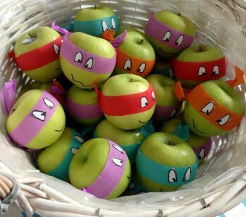 Apple ninja turtles