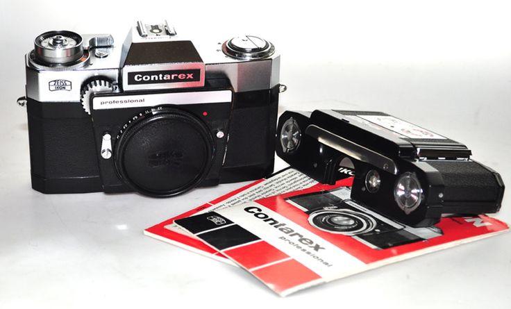 ZEISS IKON CONTAREX PROFESSIONAL + DOS ET NOTICE SEULEMENT 1500 EX. FABRIQUE BEL ETAT AVL5/N°K 45345 : vente d'appareils photo de collection et d'occasion : french-camera.fr