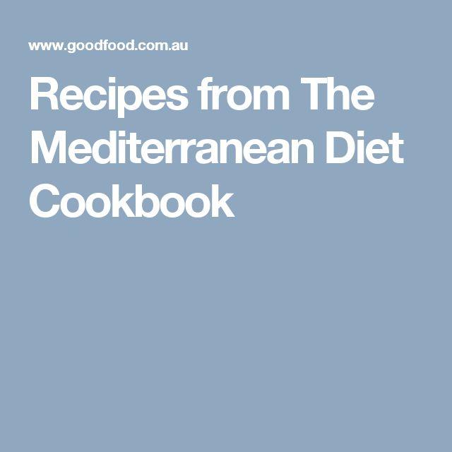 Recipes from The Mediterranean Diet Cookbook