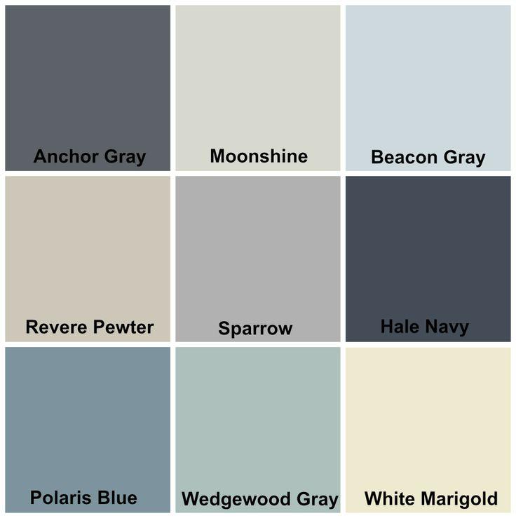 My whole home color palette walls pinterest house for Whole house paint color palette