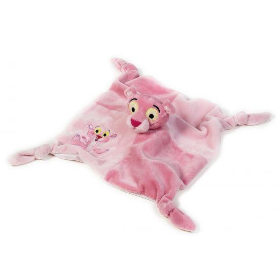 Baby speel tutteldoekje Pink Panter. Leuk roze knuffeldoekje voor kinderen en…
