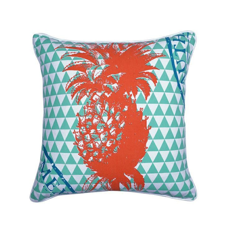 It seems the whole world has gone bananas (excuse the pun) for Pineapples! Try out our Pineapple Cushion by Madras Link - Pillow Talk