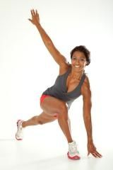 Ramona Braganza, fit guru and trainer to the stars 3 2 1 workout 3 circuits cardiovascular 2 circuits strength 1 core