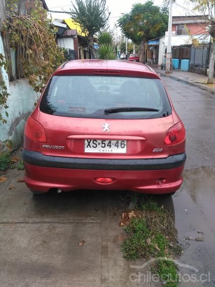 Chileautos: Peugeot 206 1.4 XR HDI 2004 $ 1.950.000