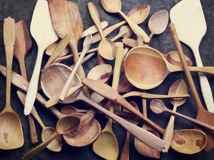 A pile of spoons  www.hewn.ie