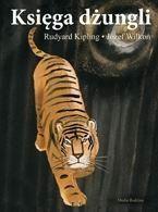 Okładka książki Księga dżungli. Dla dzieci w wieku 8- 10 lat.