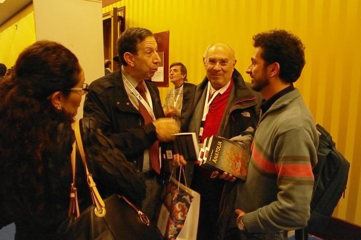 Il dr. Mounir Bouchenaki (Consigliere speciale del Direttore Generale UNESCO) con Andrea De Pascale.