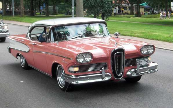 1958 Edsel Convertible Edsel American Classic Cars Edsel Ford