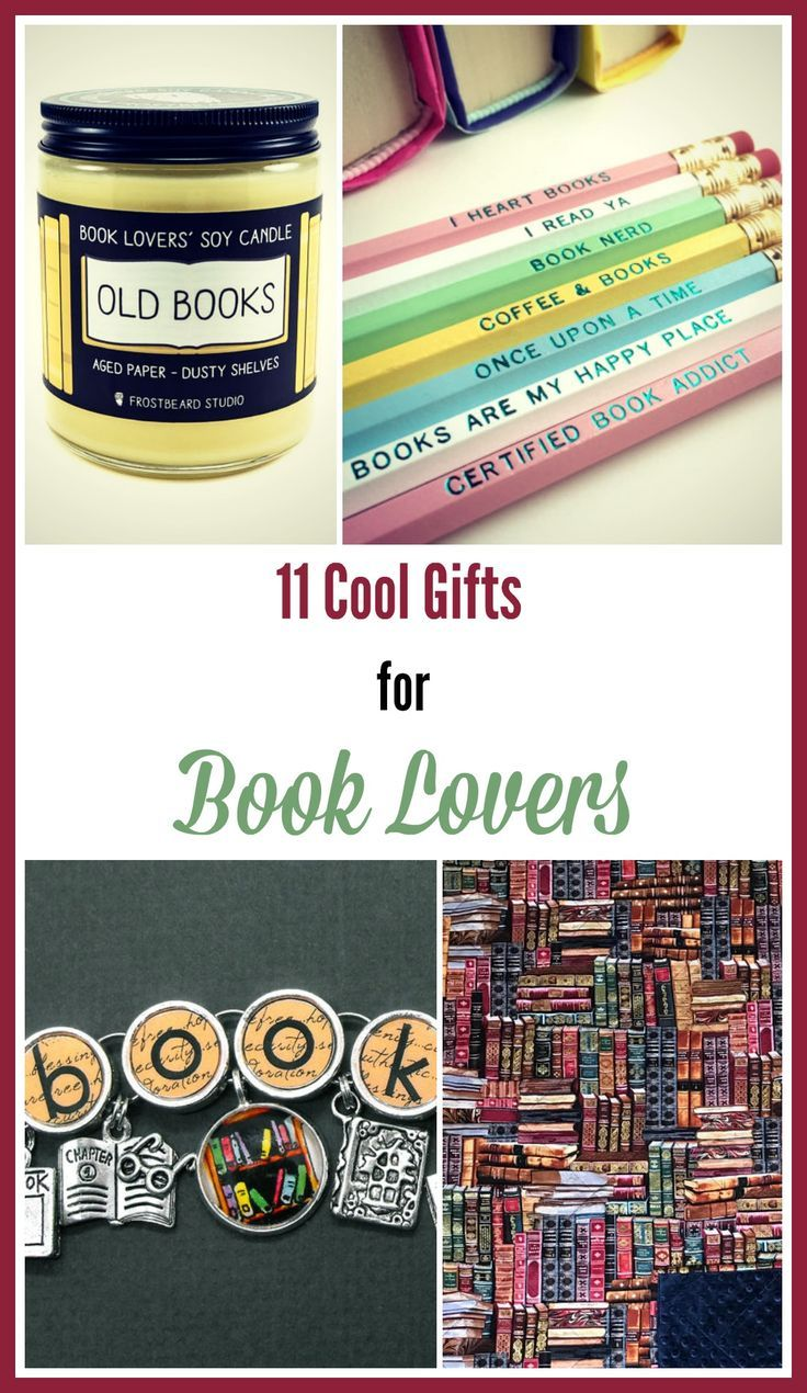 11 fun and unique gifts for book lovers - | book lovers | books