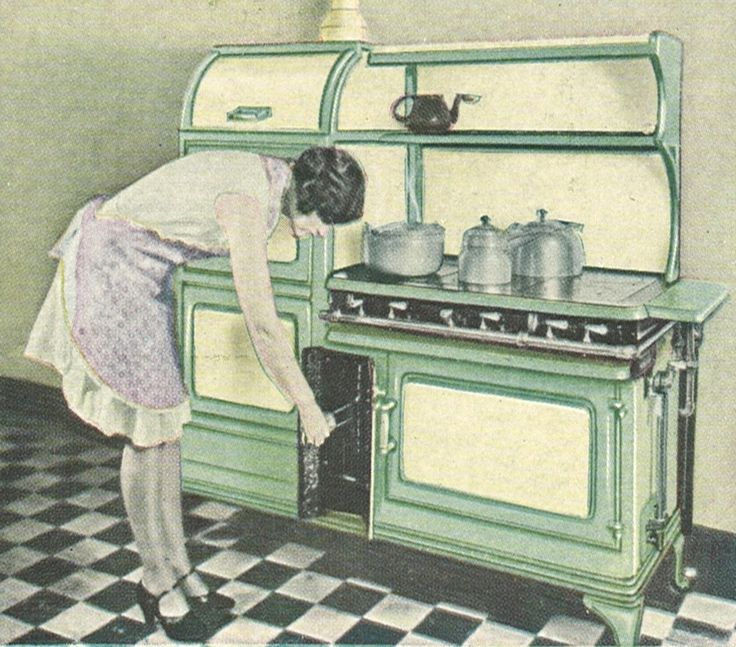 Ad For A 1930 Glenwood Stove With A Vertical Broiler.