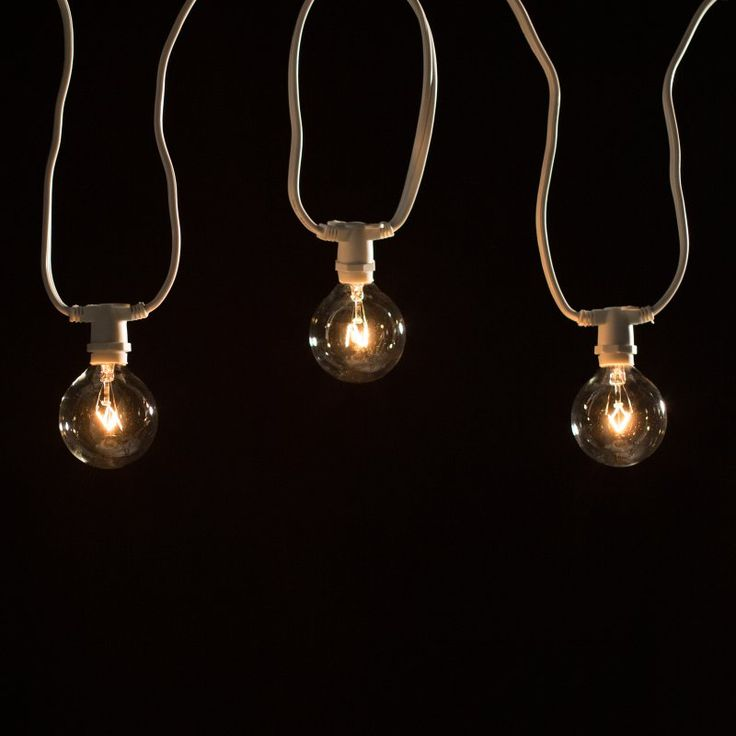 Bulbrite STRING15/E12 25 ft. Outdoor String Light with Incandescent Bulbs - Outdoor Hanging Lights at Hayneedle