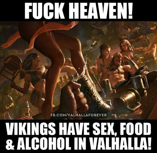 Hail the God's in Valhalla