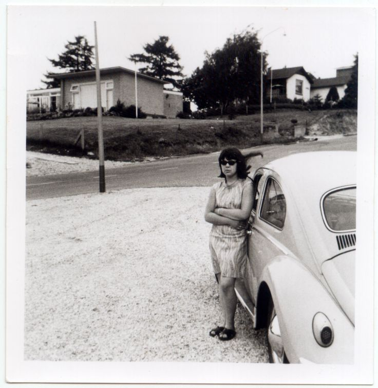 From the family album. Photo dated 09-01-1965. #VW #Beetle #vintage #Realvintage #Nuth #Limburg #DT-46-03