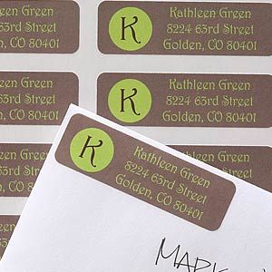 In The Spotlight Return Address Labels