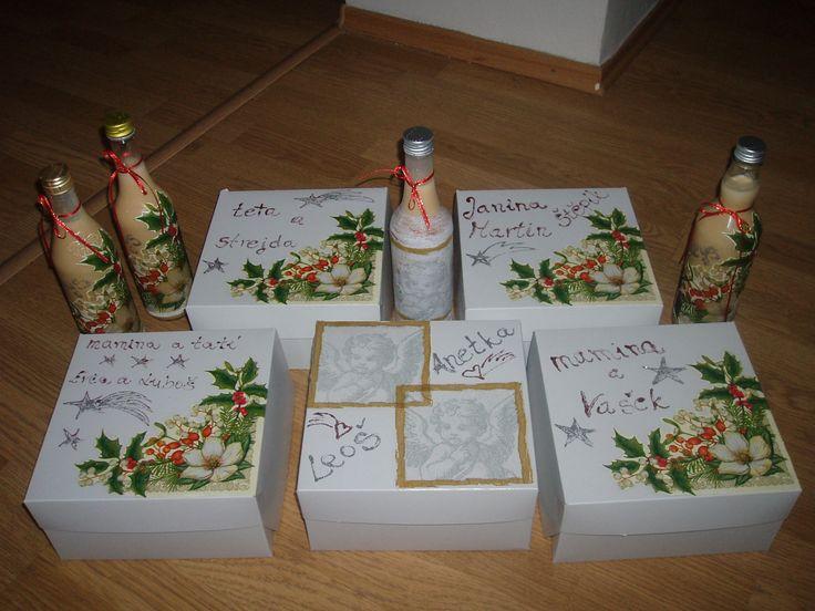 ručně dělané vánoční dárky