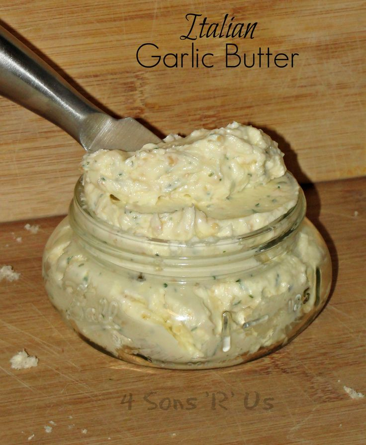 Italian Garlic Butter is spreadable magic for bread and so much more.