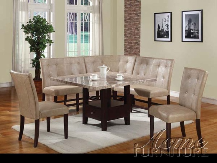 Marble Table Dining Set Up