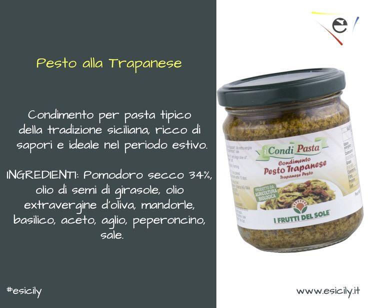 Quanti di voi amano la pasta col pesto? Eccovi un prodotto sano e genuino a base di degli ingredienti più genuini della Sicilia.   CLICCA QUI --> http://bit.ly/1WLB8GN Registrati gratuitamente su www.esicily.it Seguiteci su facebook/ #followus  on #facebook : http://bitly.com/196fdI0 #sicilia   #sicily   #italianfood   #food   #recipe   #ricetta   #foodblogger   #shopping   #shoponline   #ingredienti   #ecommerce   #italia   #italy   #foodporn   #organic   #organicfood