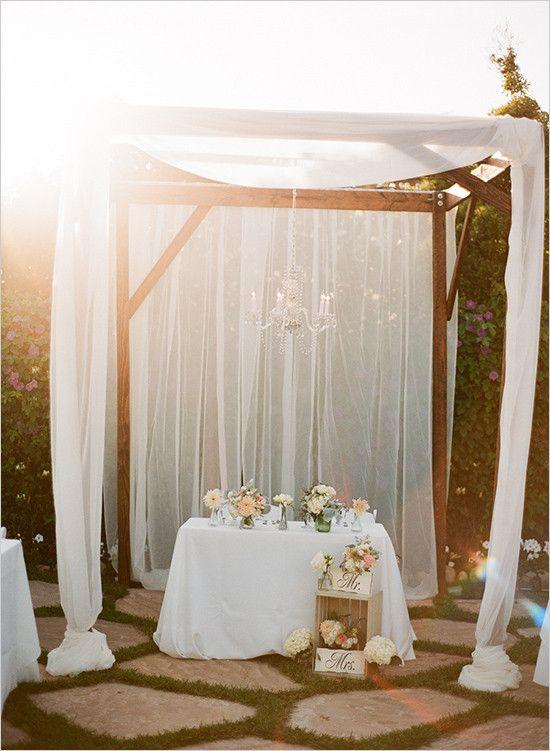 sweet love wedding sweetheart table decorwedding receptionsreception ideaswedding