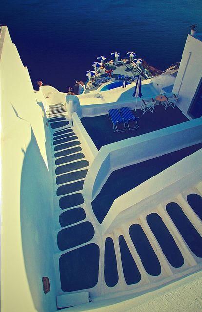 Santorini - Travelling Through Europe by Paul DAmbra - Australia, via Flickr