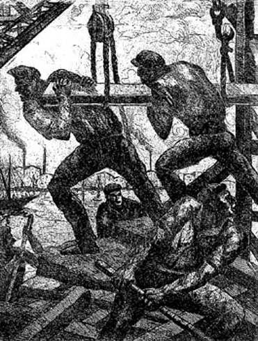 Día de Trabajo : Benito Quinquela Martín