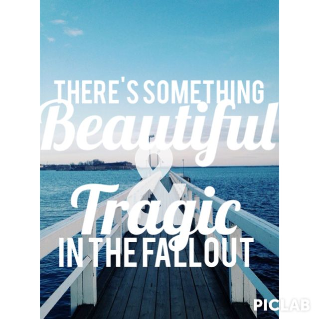 There's something beautiful and tragic in the fallout. Miss Jackson. Panic! At the disco lyrics