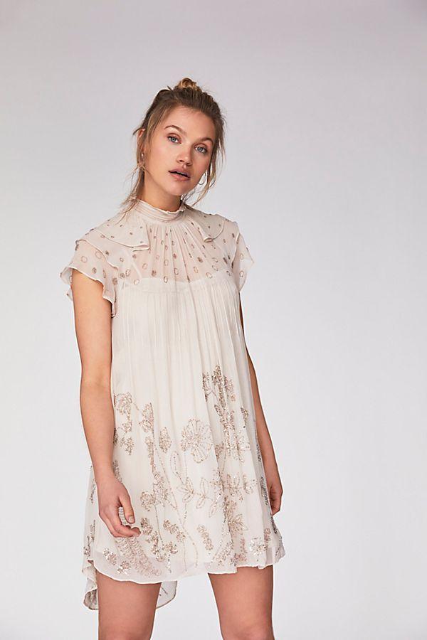 6d740a97d9f3 Free People - Lillia Mini Dress   Natural