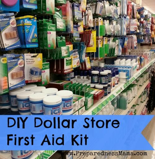 I found everything I needed to make a decent first aid kit for under $10