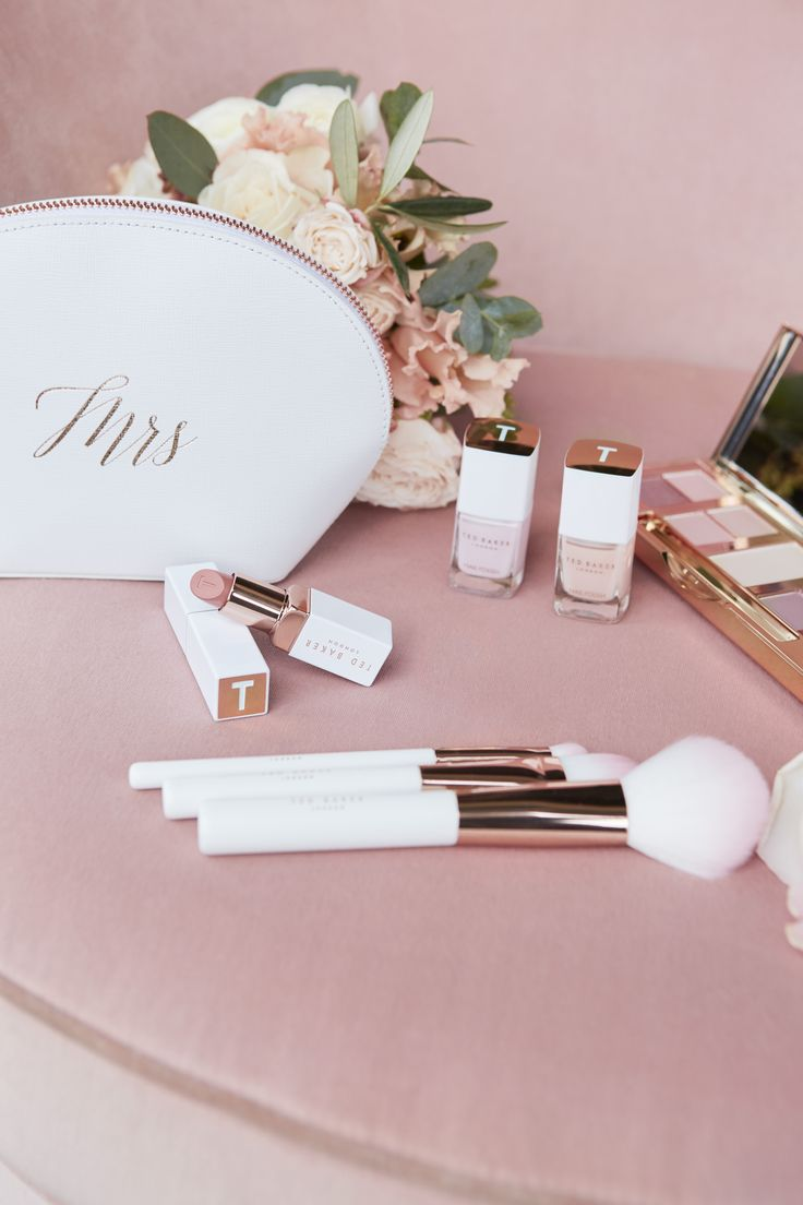 Wedding day essential bag for the bride, Also great Bridesmaid gift #wedwithted @tedbaker