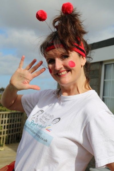 Joining in the Comic Relief Danceathon