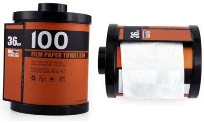 Un dispensador de papel higiénico para hacer patente tu apego a la fotografía | Saber de fotografía es facilisimo.com