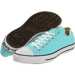 Chuck Taylor Converse shoes - in blue (I think you figured out I love me my turquoise, sky blue, cobalt !)  These would be great for day at the beach w/jeans rolled up !  Fabulous.