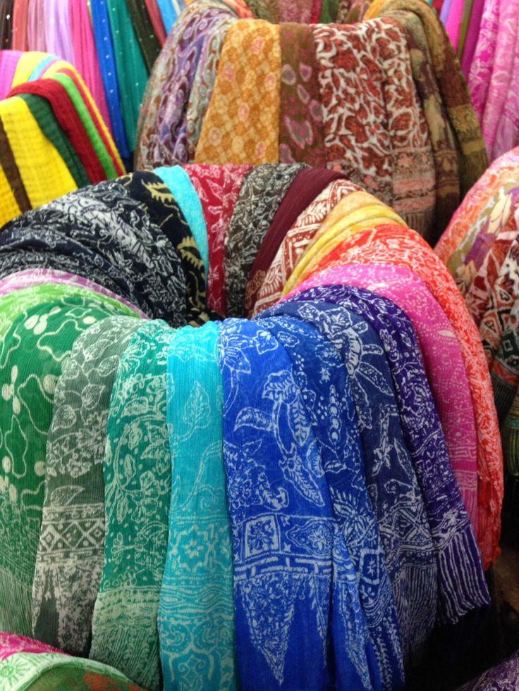 Silky sarongs
