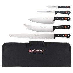 Wusthof BBQ Knife Set, must have BBQ tools to make cutting and carving your meats an easy task.