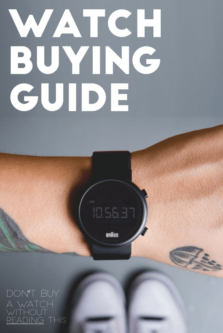 No one will tell you the secrets of buying watch rather than this.