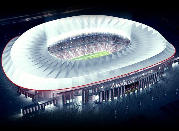 El troleo de Google Maps al nuevo estadio del Atlético de Madrid