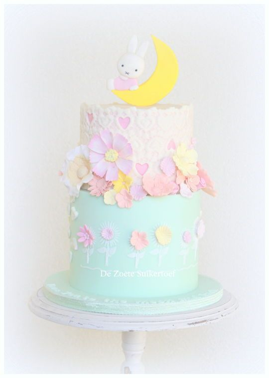 Nijntje/Miffy cake, love you to the moon and back..
