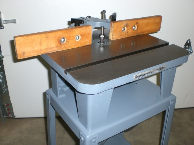 Rockwell 1 2 Quot Wood Shaper On Mobile Stand 1950 S