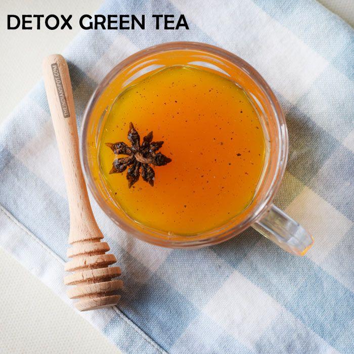 DIY DETOX GREEN TEA