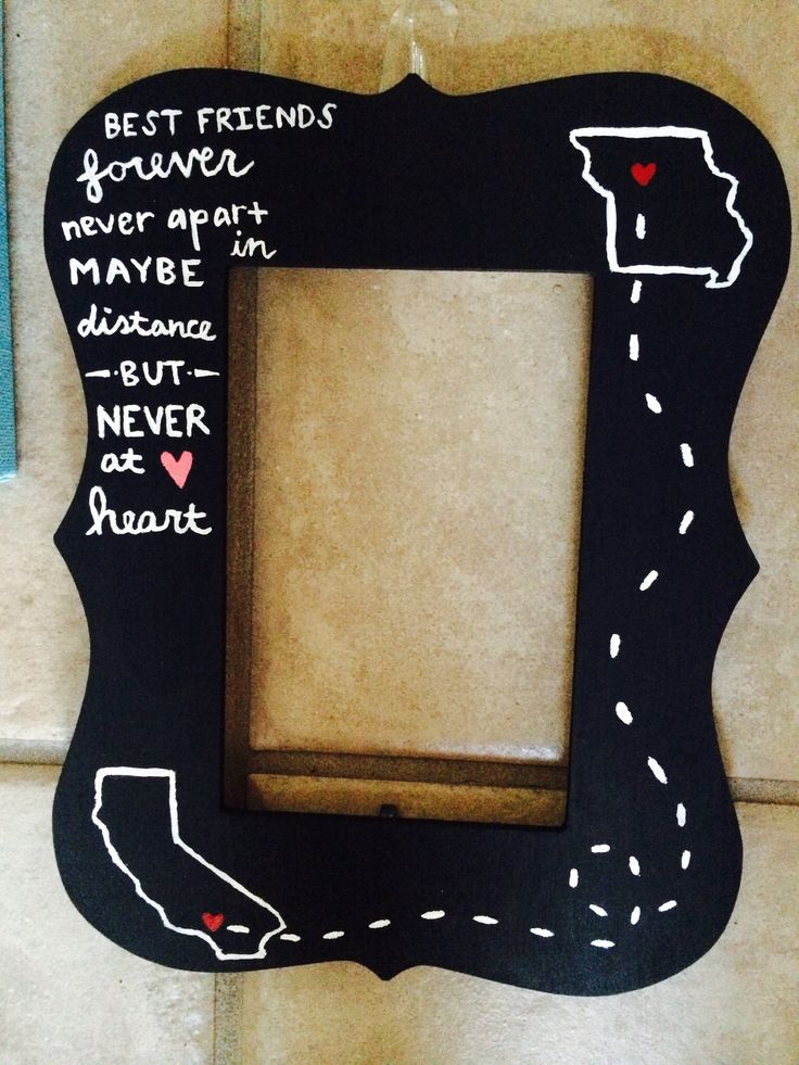 Perfect Best Friend Picture Frame Ideas Gallery - Custom Picture ...