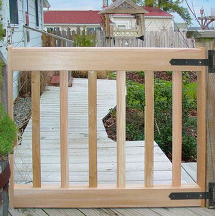 8 Best Custom Deck Gates In Cedar Images On Pinterest