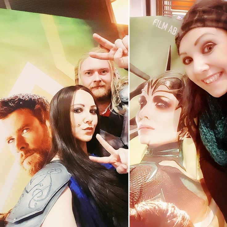 Doing selfies like @chrishemsworth as #Thor! Late night selfie shots from our #thorragnarok promo at @mathaeserfilmpalast yesterday People were enthusiastic about the movie and the theater's team was so awesome too! They even gave us the photo wall as a present - huge fangirl moment  #cosplayersofinstagram #Thorcosplay #cosplaymodel #marvel #cosplay #guyswhocosplay #janefoster #chrishemsworth #nathalieportmann #igers #epicshots #moviecosplay #selfie #selfiefun #igers #augsburg #münchen…