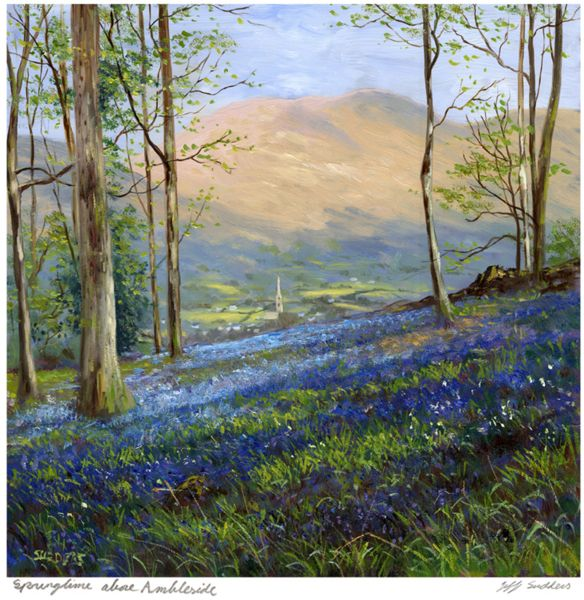 Springtime Above Ambleside Jeff Sudders Print