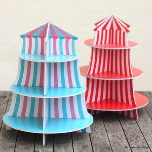 Image of ** Cirque ** Support à petits gâteaux ou cupcakes 13,50 €