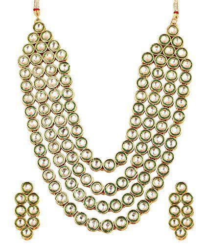 Indian Bollywood Gold Plated Ethnic Green White Kundan An... https://www.amazon.com/dp/B071H9LX63/ref=cm_sw_r_pi_dp_x_sHxgzbRH0JSGV