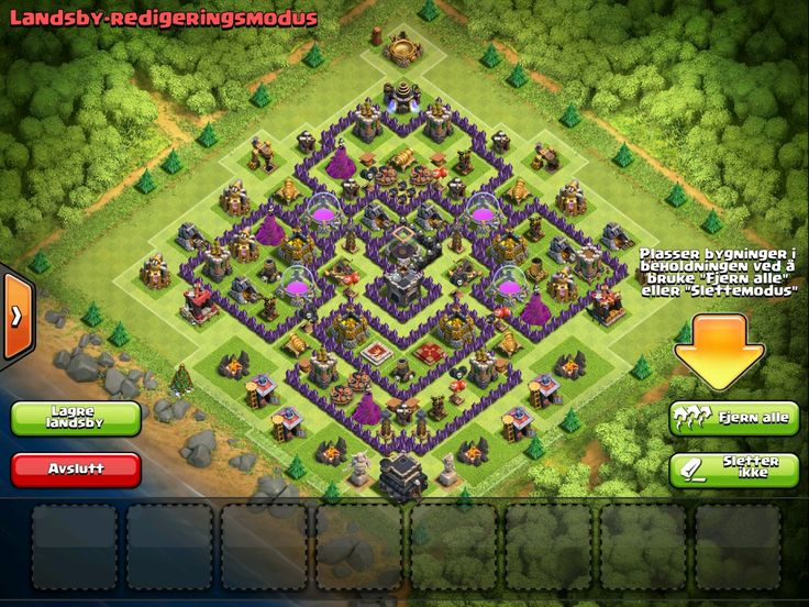 clash of clans base th9