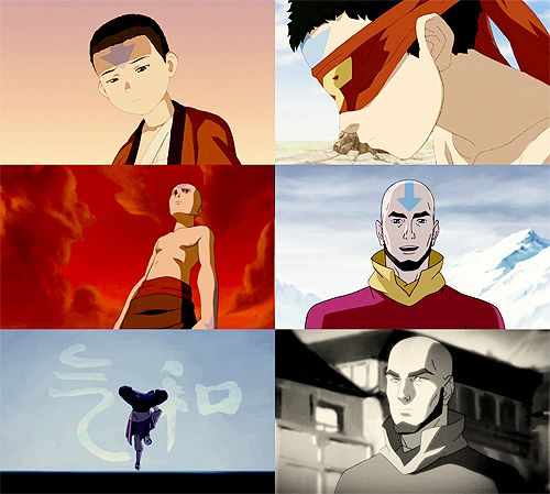 The Evolution of Avatar Aang