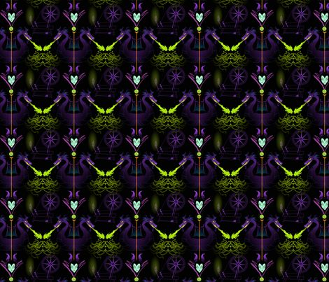 Maleficent fabric!  Beauty is Malice fabric by spicysteweddemon on Spoonflower - custom fabric